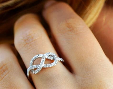 Wedding Ring Necklace Meaning by The Meaning Infinity Ring Necklace Engagement Rings