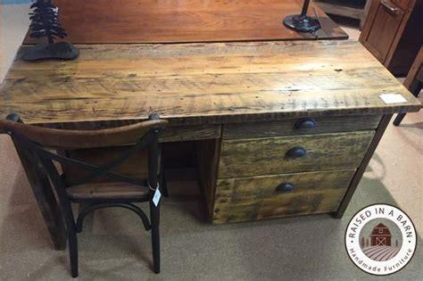 Barnwood Desk by Barnwood Desk Raised In A Barn Furniture
