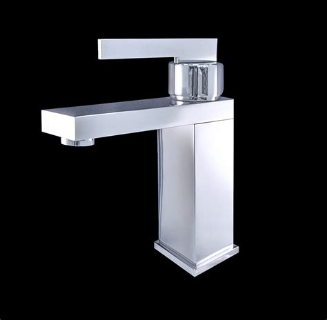 Costa I Chrome Finish Modern Bathroom Faucet Modern Bathroom Faucet