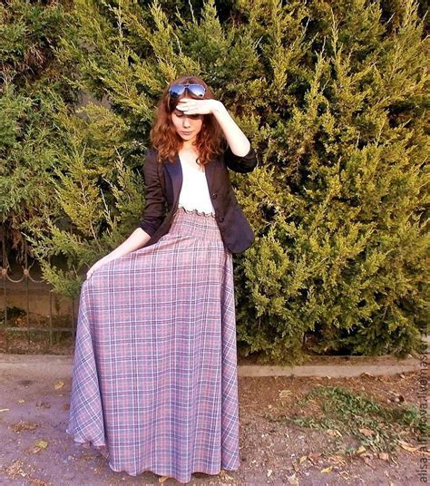 Tartan Floor L by Buy Skirt In Tartan Floor Quot Lelechka Quot On Livemaster Shop