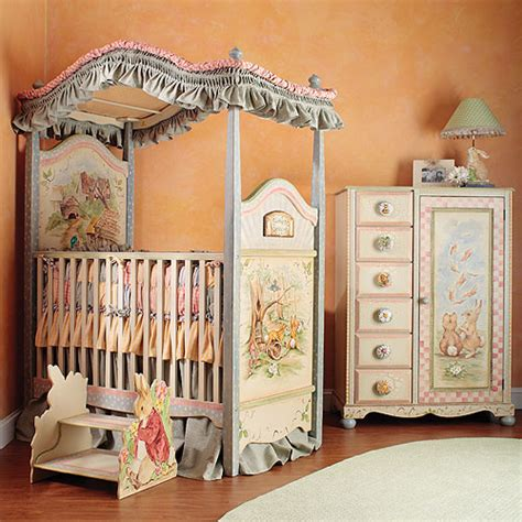 Canopy For Baby Crib Carrot Collection Canopy Crib And Bedding And Nursery Necessities In Interior Design Guide All