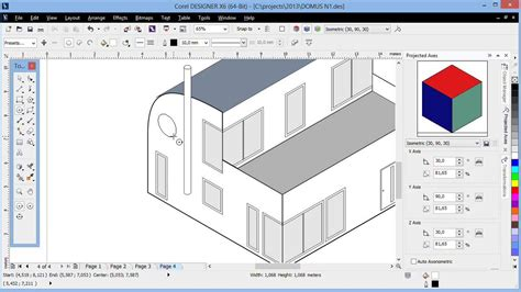 online 3d design tool isometric drawing tools in corel designer youtube