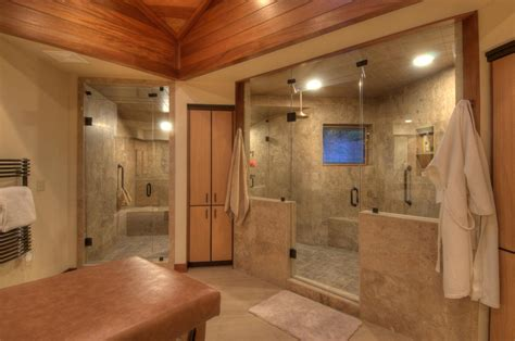 Big In Shower by Shower Ideas For Master Bathroom Homesfeed