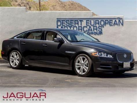 sell used cpo 2011 jaguar xjl caviar rear seat