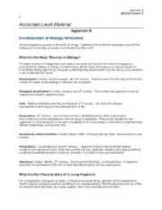Fundamentals Of Biology Worksheet