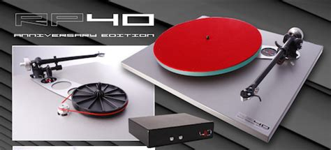 Rega Rp40 Turntable For Stereo Made In rega rp40 anniversary edition disc house
