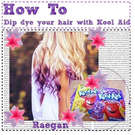 kool aid hair dye on pinterest kool aid dye hair and how to dye your hair with kool aid hair trusper tip kool