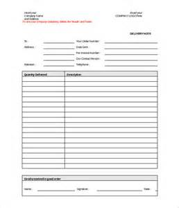 doc template delivery note template 20 free word pdf format