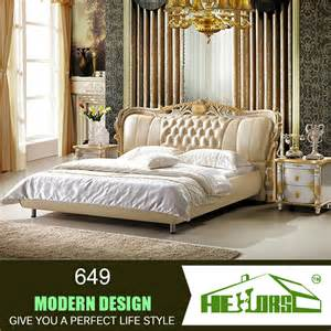2014 new design furniture bed italian bedroom set latest