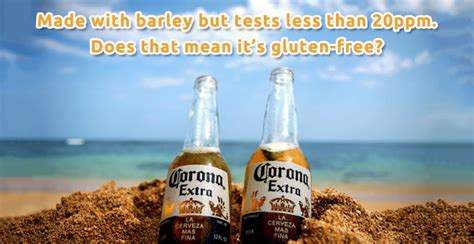 is corona light gluten free is heineken gluten free don t ask heineken