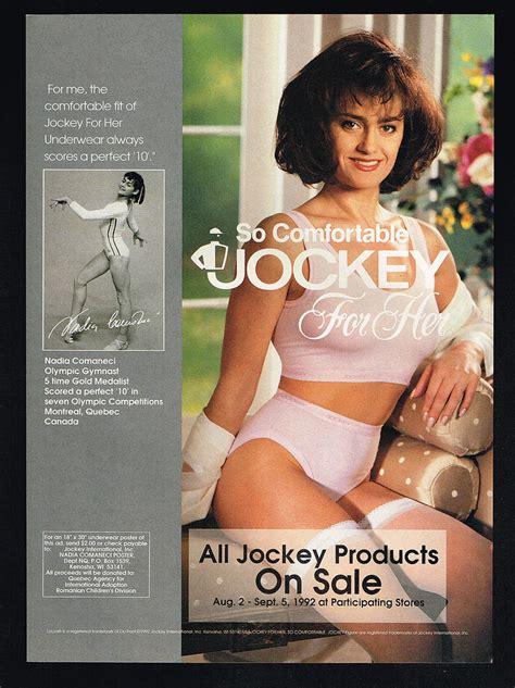 Home Interior Ebay by 1992 Nadia Comaneci Gymnast 2 Photo Jockey Underwear