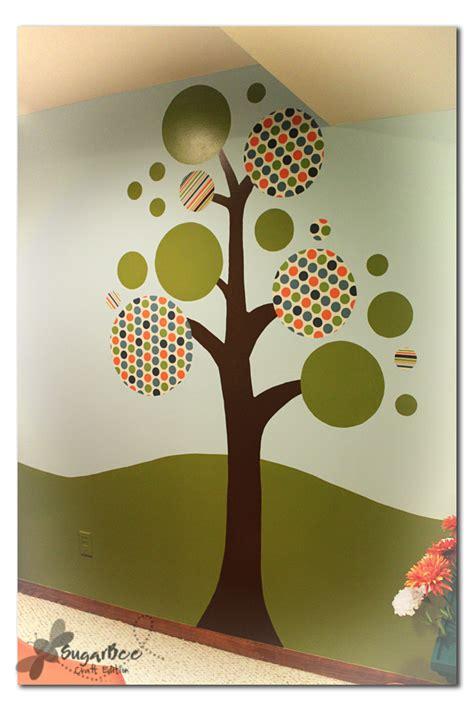the s diary diy fabric wall mural