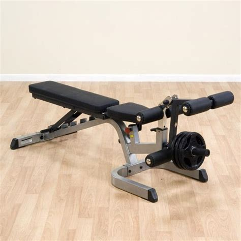 body solid bench attachments heavy duty flat incline decline bench body solid gfid71
