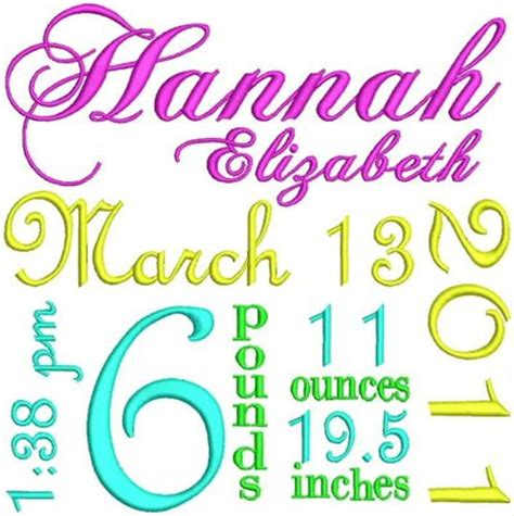 embroidery design birth announcement free embroidery designs cute embroidery designs