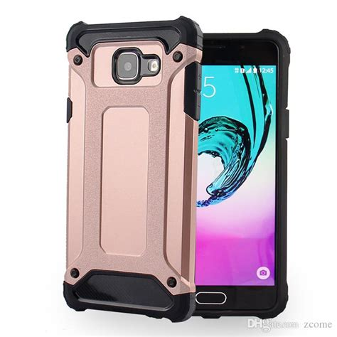 Cover Samsung Galaxy J2 Hybrid Armor Defender With Kick Stand slim armor hybrid tough heavy duty defender cover shockproof protector for samsung galaxy