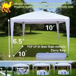 Strong Canopy Tents by Strong Camel Ez Pop Up Wedding Party Tent 10 X10 Folding