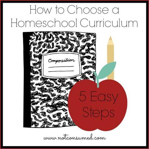 free choosing homeschool curriculum printable tips
