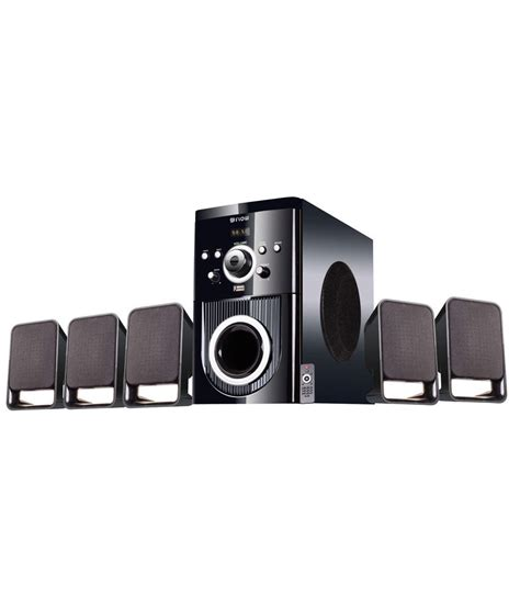 Unit Home Theater Multimedia flow 5 1 buzz multimedia speaker home theater system at