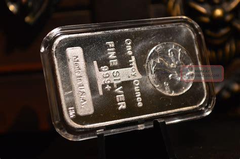 1 Oz Troy Silver Bar Value - 1 oz silver bar 999 silver walking liberty design in