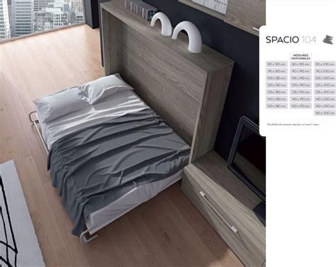 lit taille 120x190 armoire lit escamotable meubles canap 233 s chezsoidesign