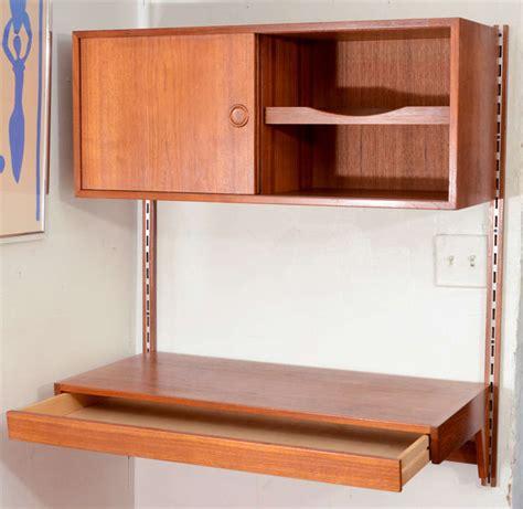 modern wall desk modern wall mounted desk at 1stdibs