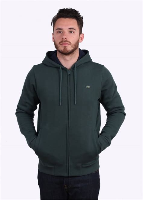 Jaket Cewe Zipper Hoodie Navy Original 2 lacoste zip hoodie kelp navy hoodies from triads uk