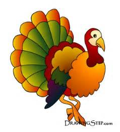 Thanksgiving Turkey Cartoons Cartoon Turkey Drawings