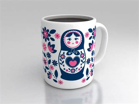 mug design how to matrioska mug design