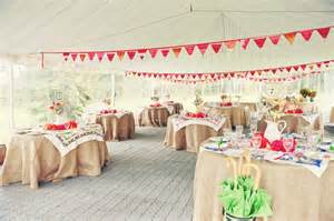 Handmade Wedding Ideas - handmade wedding ideas reception decor bunting banners 4