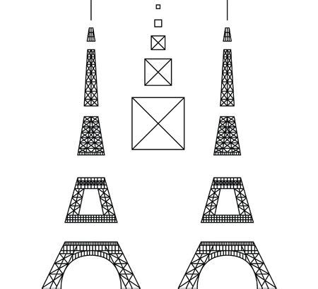 3doodler templates eiffel tower 3doodler 3doodle eiffel