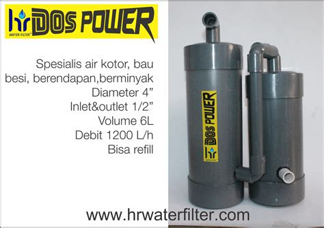 Hr Water Filter Uno Single Saringan Air Filter Air hr water filter dos power keran
