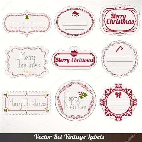 Etiketten Nähen Selber Machen by Satz Vektor Weihnachten Etiketten Stockvektor