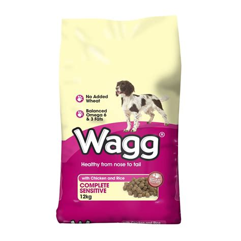 gluten free puppy chow wagg complete sensitive gluten free food