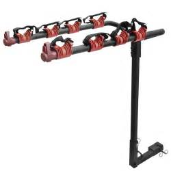 bike rack 4 bicycle hitch mount carrier car truck auto 4 bikes new ebay