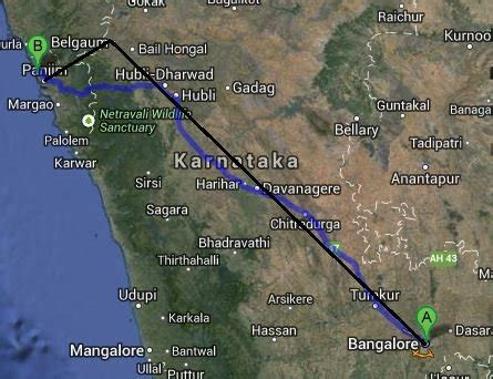 road map from mapusa to belgaum bangalore goa route queries page 157 team bhp
