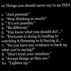 Check out the darker annoying aspects of being infj to be aware of