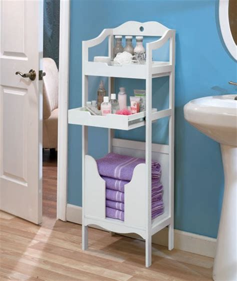 towel stackers bathroom wood bathroom storage organizer drawer shelf towel stacker white or espresso new ebay