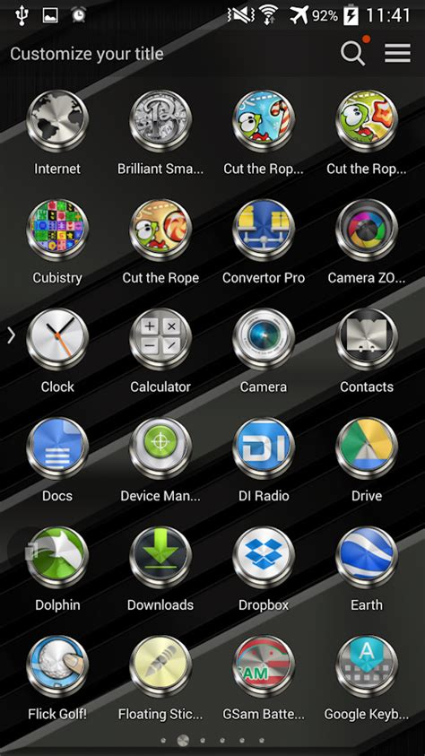 themes tsf launcher tsf shell launcher theme prime with icon pack android