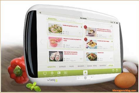 tablette tactile cuisine lancement de la tablette tactile la table sp 233 ciale cuisine