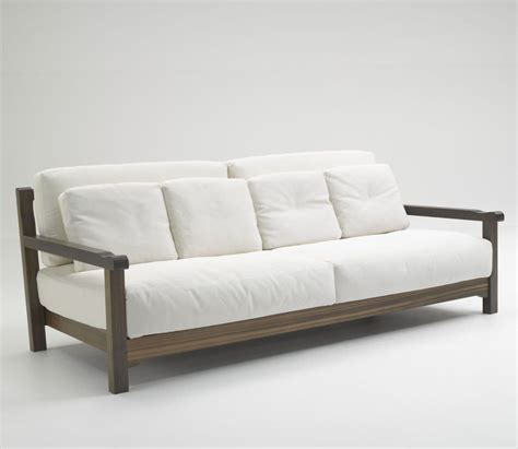 24 Simple Wooden Sofa To Use In Your Home Keribrownhomes White Sofa Chair