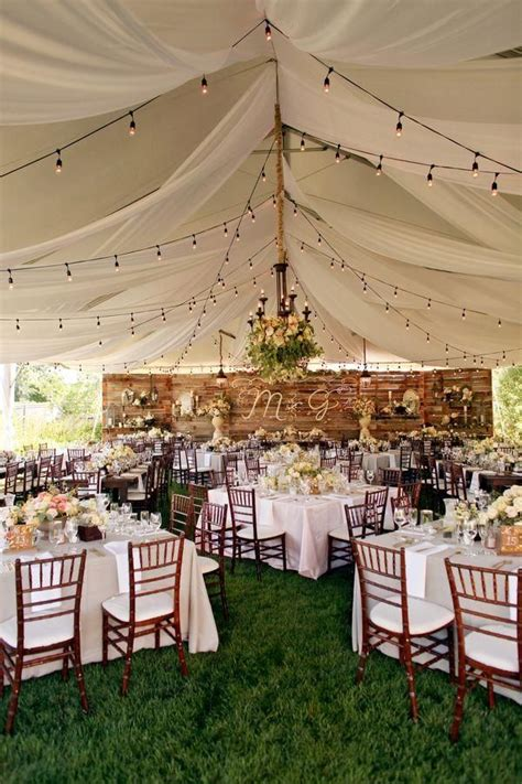The 25 Best Ideas About Wedding Tent Decorations On Backyard Wedding Reception Decoration Ideas