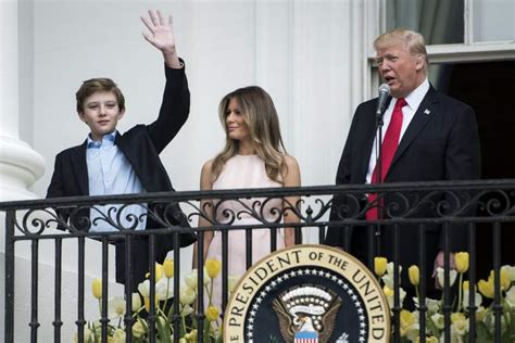 donald trump height in feet barron trump s height how tall is the first son heavy com