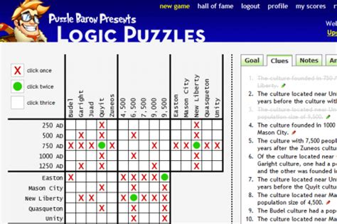 printable logic puzzles with grids and answers logic puzzles org puzzle baron