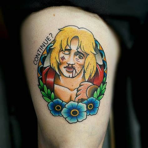 street fighter tattoo fighter by gooneytoons str at