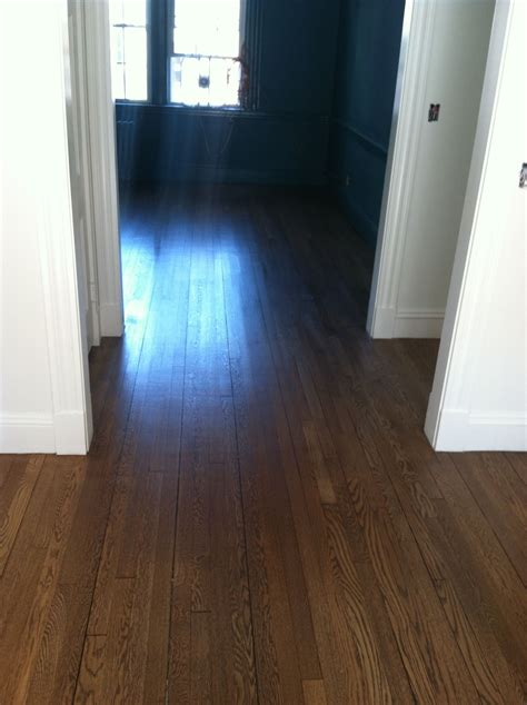 1 or 2 coats of stain on hardwood floors minwax special walnut wood stain on white oak hardwood