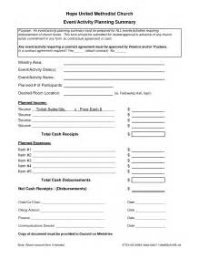 Event Planner Agreement Template 7 Best Images Of Event Planning Forms Free Printable