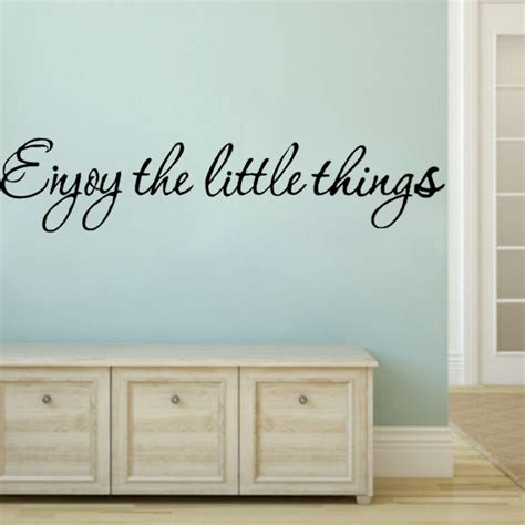 wall stickers reviews buy diy enjoy the thing removable vinyl quote wall sticker mural bazaargadgets