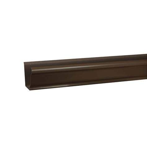 amerimax home products 5 in x 10 ft k style terra bronze
