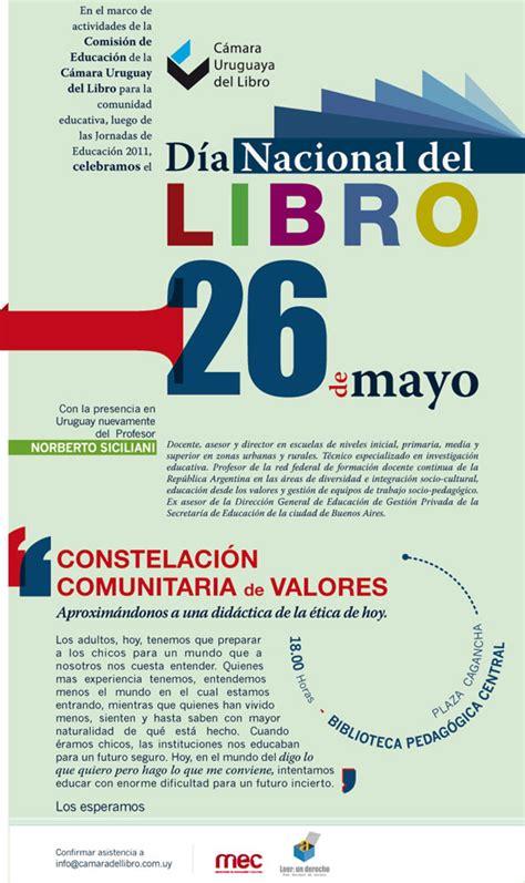 libro la uruguaya the uruguayan celebramos el d 237 a nacional del libro c 225 mara uruguaya del libro