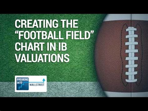 how to make a football field in your backyard how to create the football field chart in investment